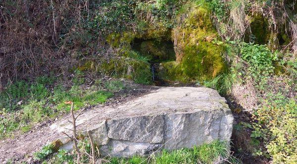Font de Bleix bord de l'Allier
