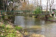 Pont passerelle Morge Varennes sur Morge