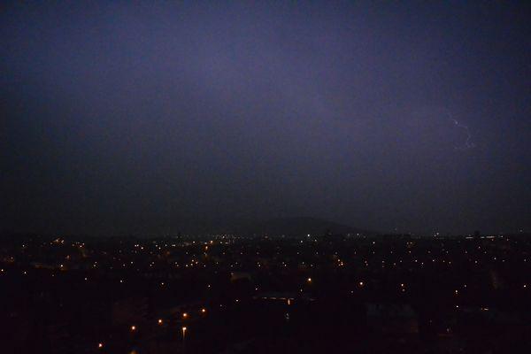L'orage clermontois du 24 avril 2014 en images