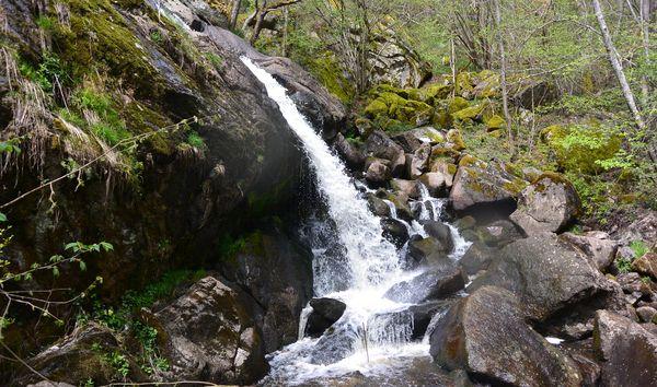 cascade de Say ruisseau de Gelles