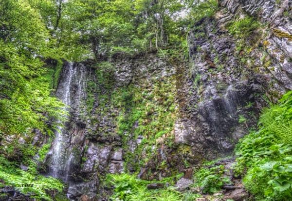 La cascade du Saut du Loup