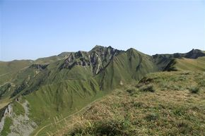 Auvergne-val et col de Courre