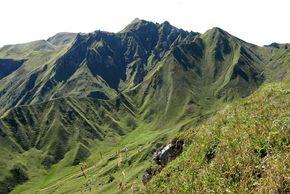Puy-Sancy - puy Redon - Col de Courre, Val de Courre