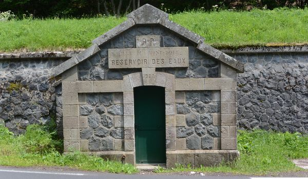 Reservoir des eaux le Mont-Dore