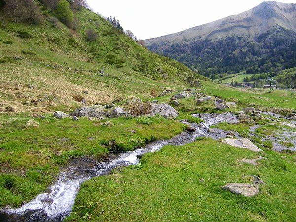 Val de courre ruisseau téléphérique