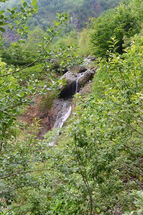 cascade du Moine vallée de Chaudefour