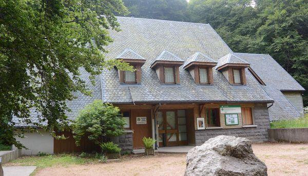 maison de la réserve naturelle de la Vallée de Chaudefour