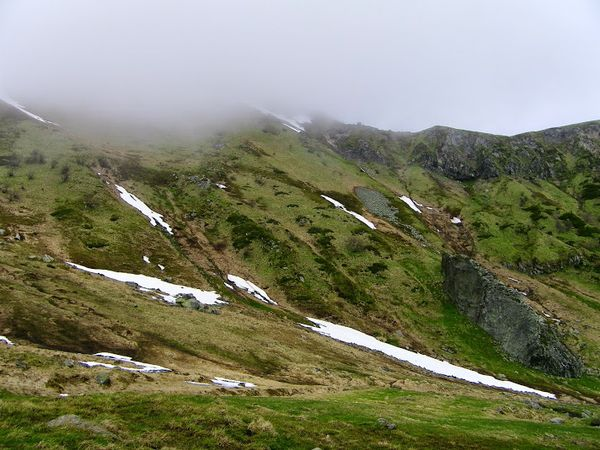 val de courre névés crète Sancy
