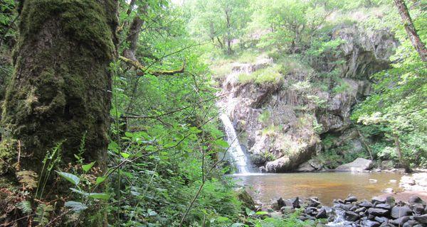 La cascade du Gour Saillant
