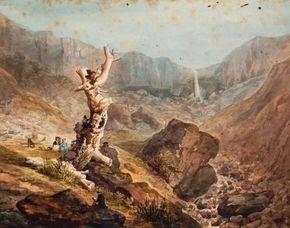 Grande cascade Mont-Dore 1831 BNF (1) 290
