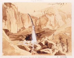 Grande cascade Mont-Dore 1831 BNF (2) 290