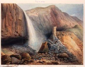 Grande cascade Mont-Dore 1831 BNF (290)