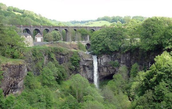 La cascade de Salins