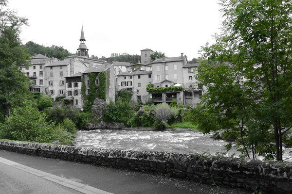 Centre Olliergues vintage