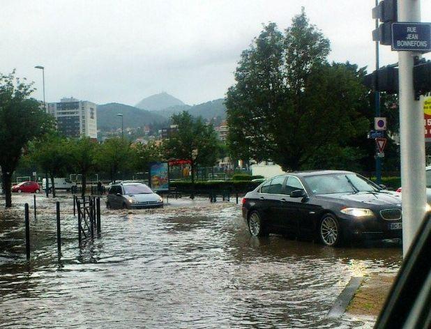Aperçu de l'orage clermontois du 9 août 2014