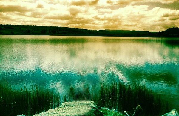 Le lac du Pêcher