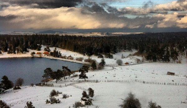 lac du pêcher et bois de la pinatelle