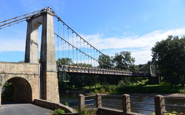 pont suspendu Coudes Allier