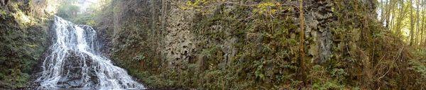 3ème cascade de Saliens et coulée d'Olby