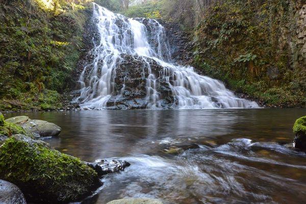 La cascade des Saliens