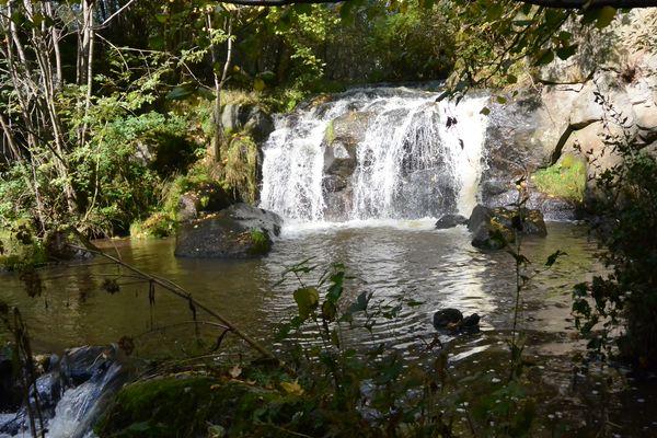 Cascade de Veyreras aydat veyre