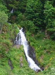 Cascade de Voissières Puy de Dôme