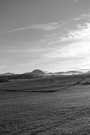 Puy de dôme brume coté ouest 290