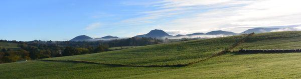 panoramique Puy de Dôme ce matin