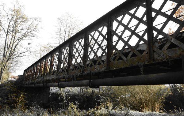 Le vieux pont de Buxerolles à Saint-Ignat