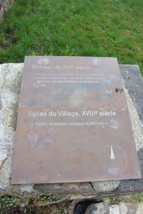 plaque Saint Floret