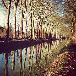 Canal de Berry aval de Montluçon