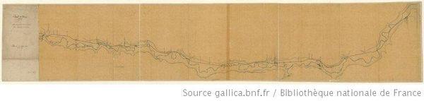 Carte Canal du Berry
