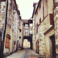 vieille ville de Montluço maisons à colombage (2)