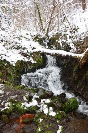 ruisseau des valettes hiver font salado