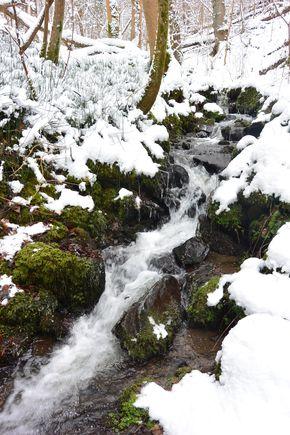 ruisseau des valettes hiver