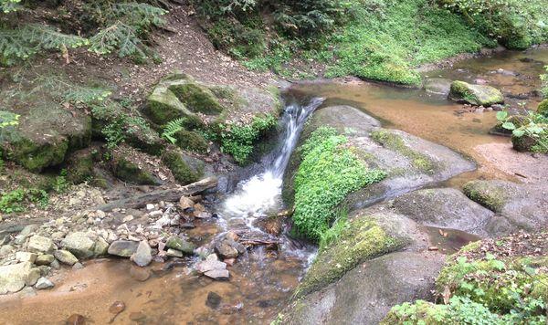 ruisseau de saint genés Ceyrat