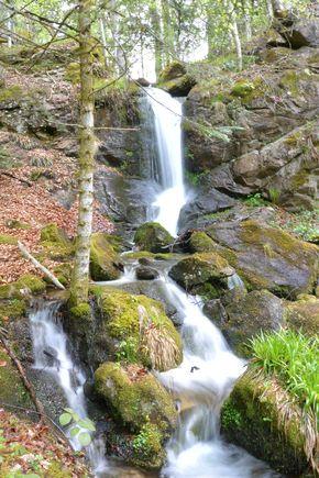 cascade de la Volpie 1 Amont