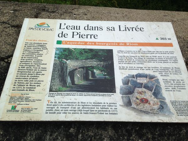 histoire eau riom mozac saint genest