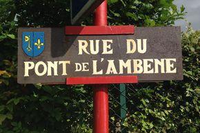 rue du Pont de L'ambène