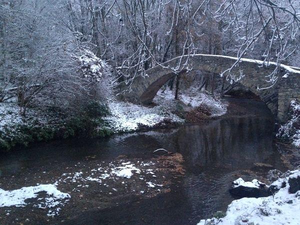 Pont Cheix sur Morge neige 1