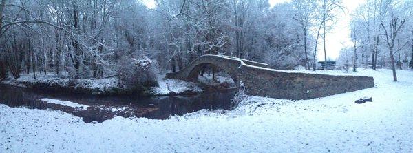 Pont Cheix sur Morge neige 4