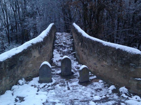 Pont Cheix sur Morge neige 5
