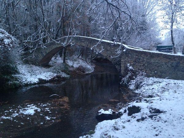 Pont Cheix sur Morge neige