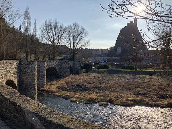 Le Pont Tordu sur la Borne