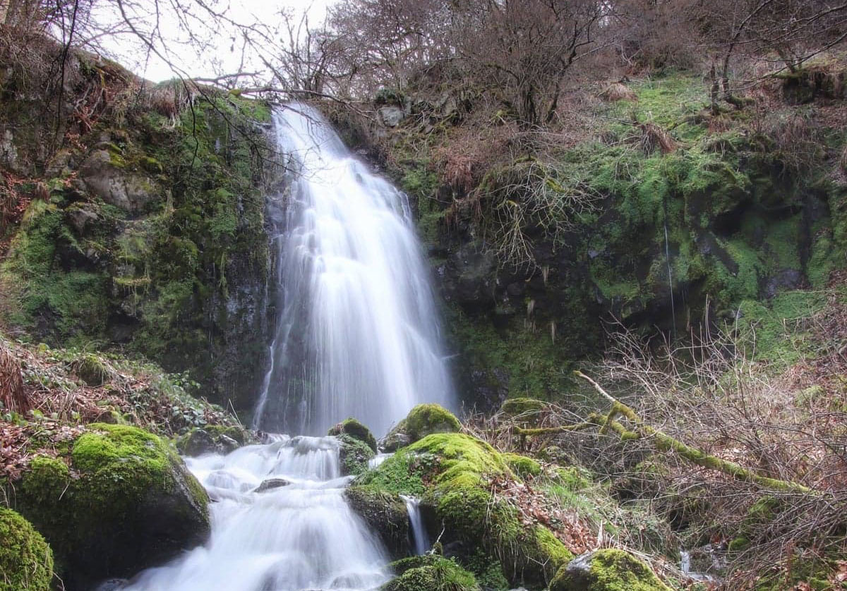 Vallée et cascades de la Graille
