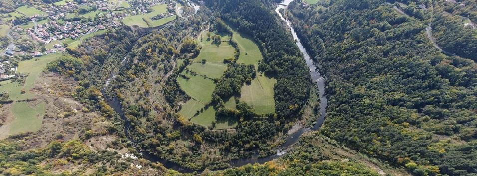 Le méandre des Farges sur la Loire