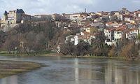 Les berges de l'Allier à Pont du Château