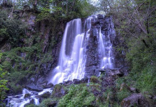 La cascade de Vaucoux (ou d'Anglard)