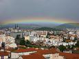 Joli arc en ciel au dessus de Clermont Ferrand