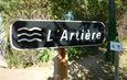L'Artière : petite rivière du Puy de Dôme